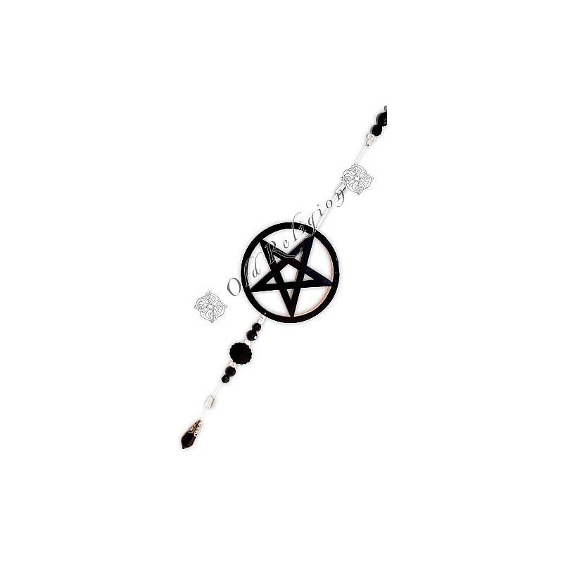 Fio de Luz - Pentagrama Preto