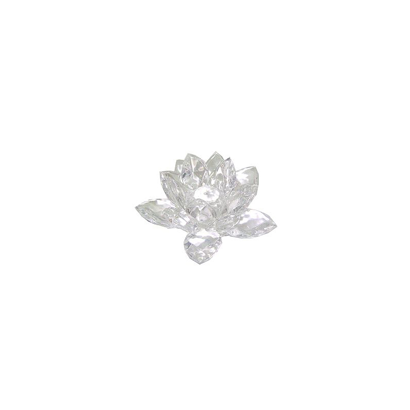 Flor de Lótus - Cristal