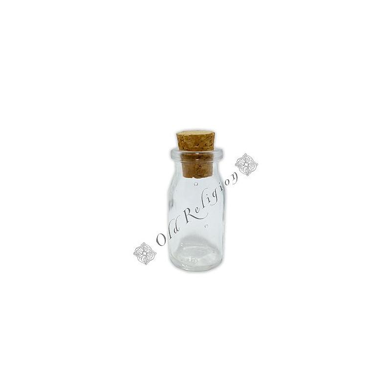 Frasco de Vidro Pequeno - Modelo 1