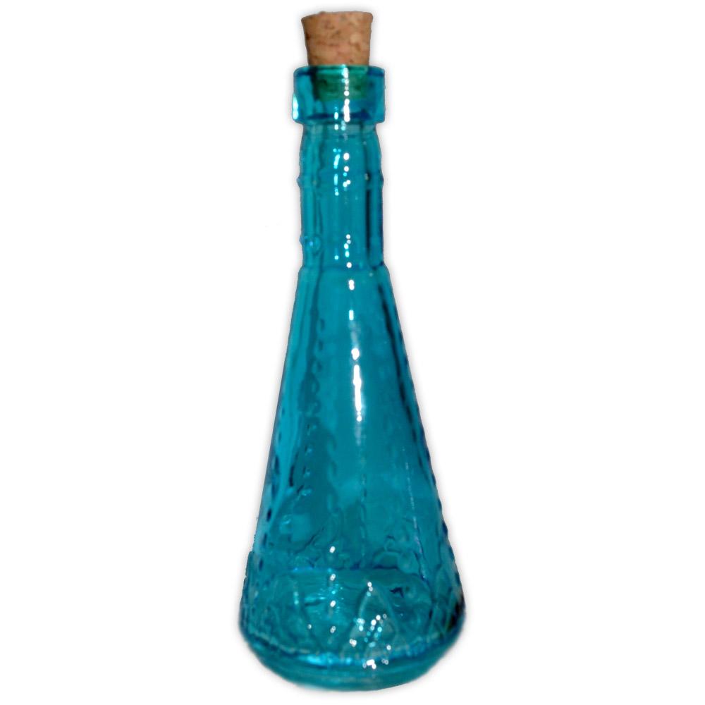Frasco de Poção Cônico - azul
