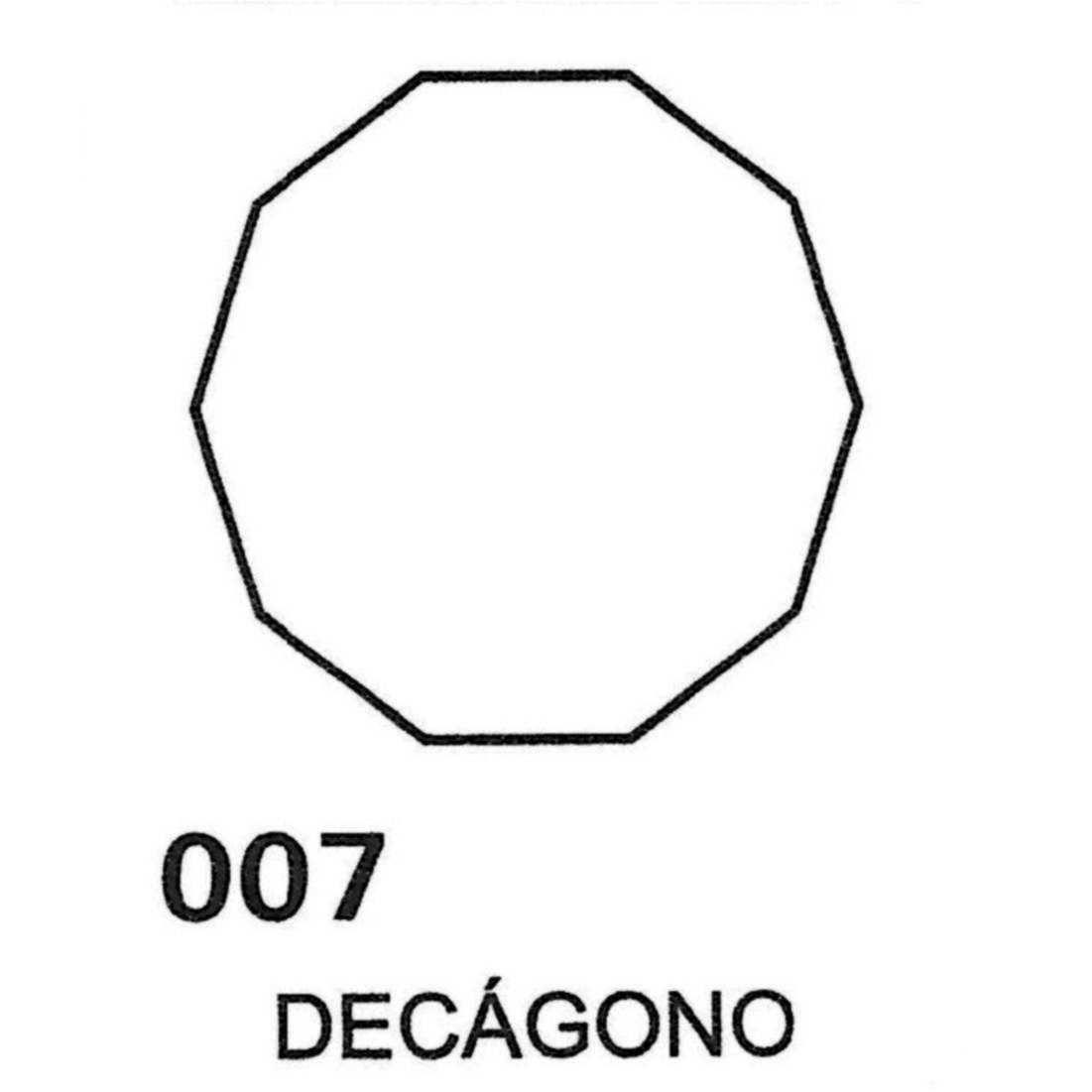 Gráfico Decágono PVC 2200