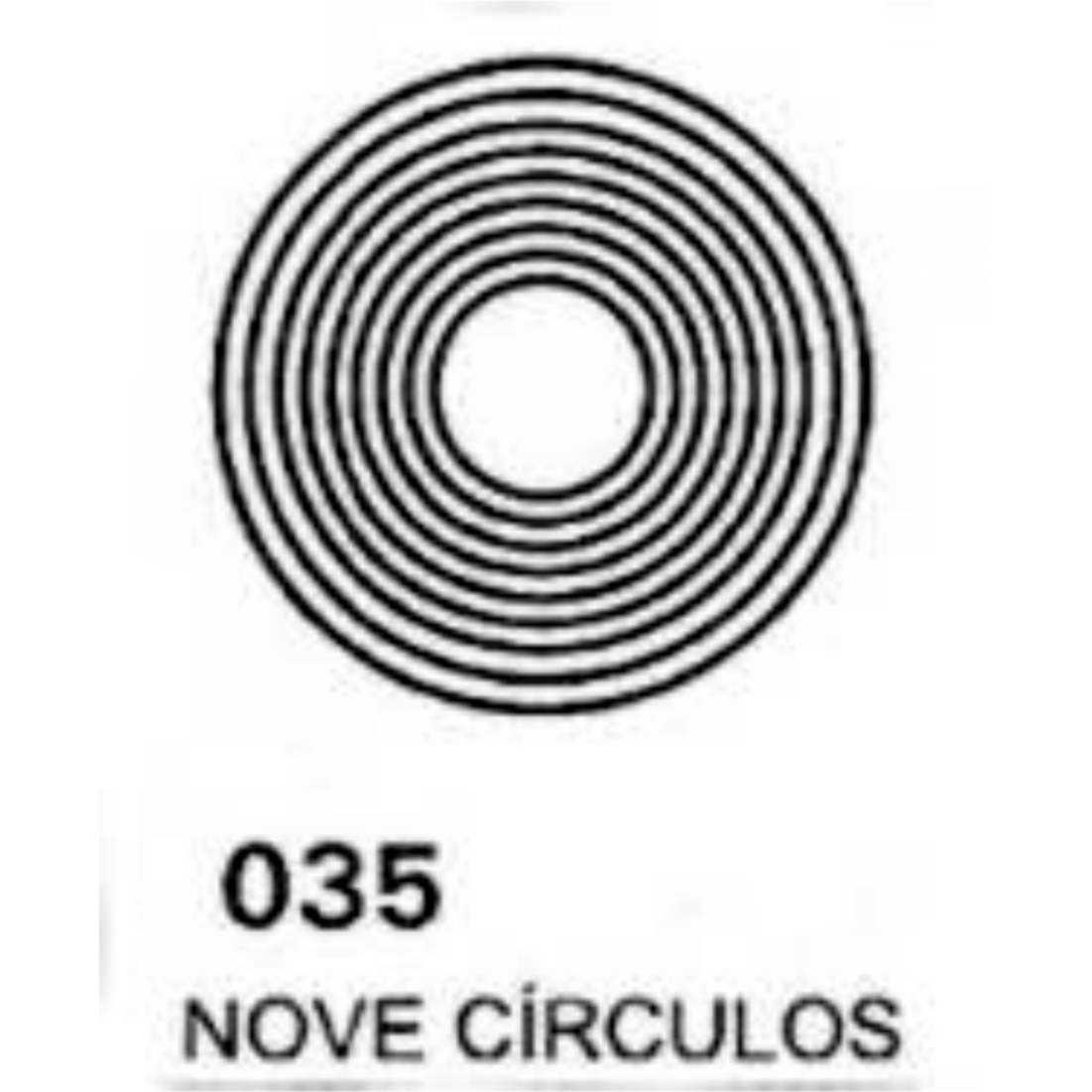 Gráfico Nove Círculos PVC 2200