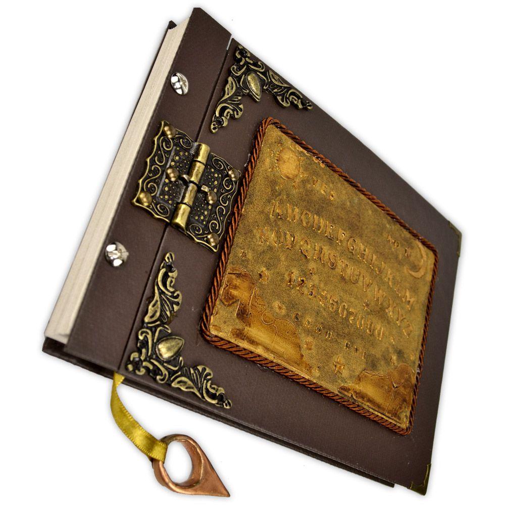 Grimório Tam. 16x22cm 300 pág. (sem pautas) - Tabuleiro Ouija