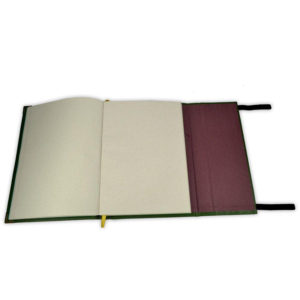 Grimório Tam. 16x22cm 300 pág. (sem pautas) - Cruz Celta
