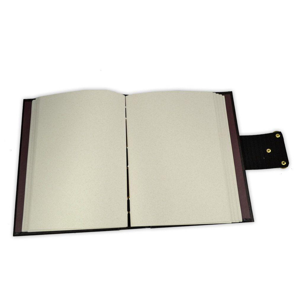 Grimório Tam. 16x22cm 300 pág. (sem pautas) - Sagrado Masculino