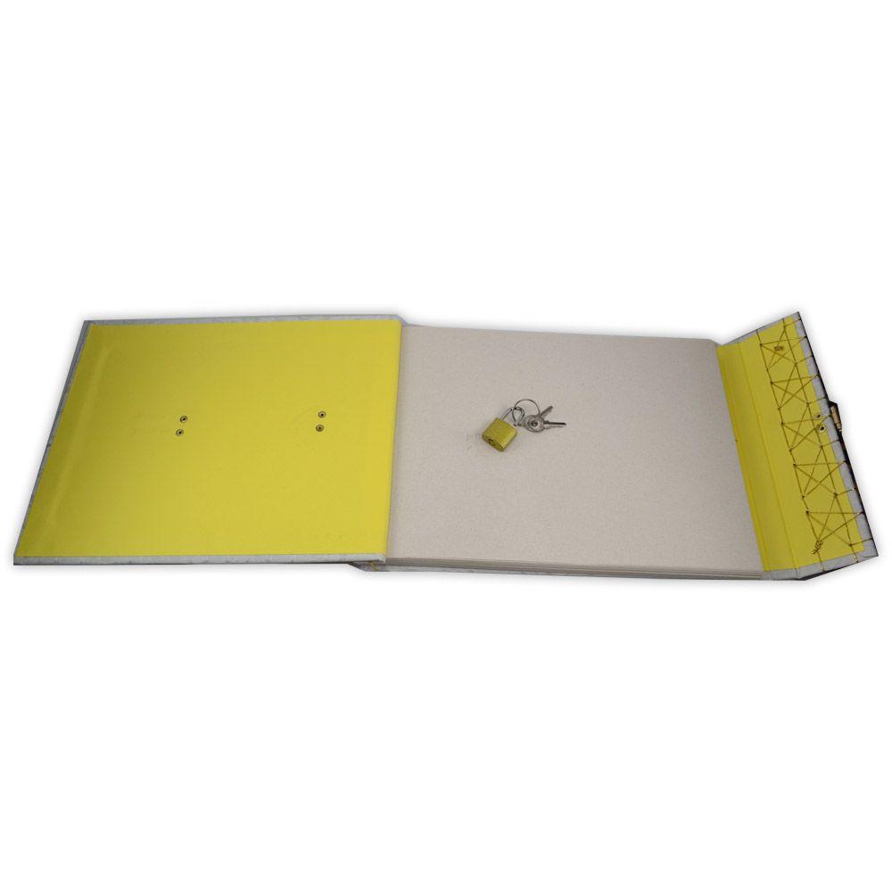 Grimório Pentagrama (horizontal) - Tam. 31x22cm 250 pág. SEM PAUTAS