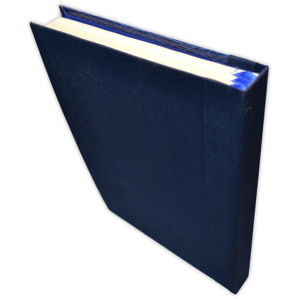 Grimório 500pg. (sem pautas) - Triskle Azul