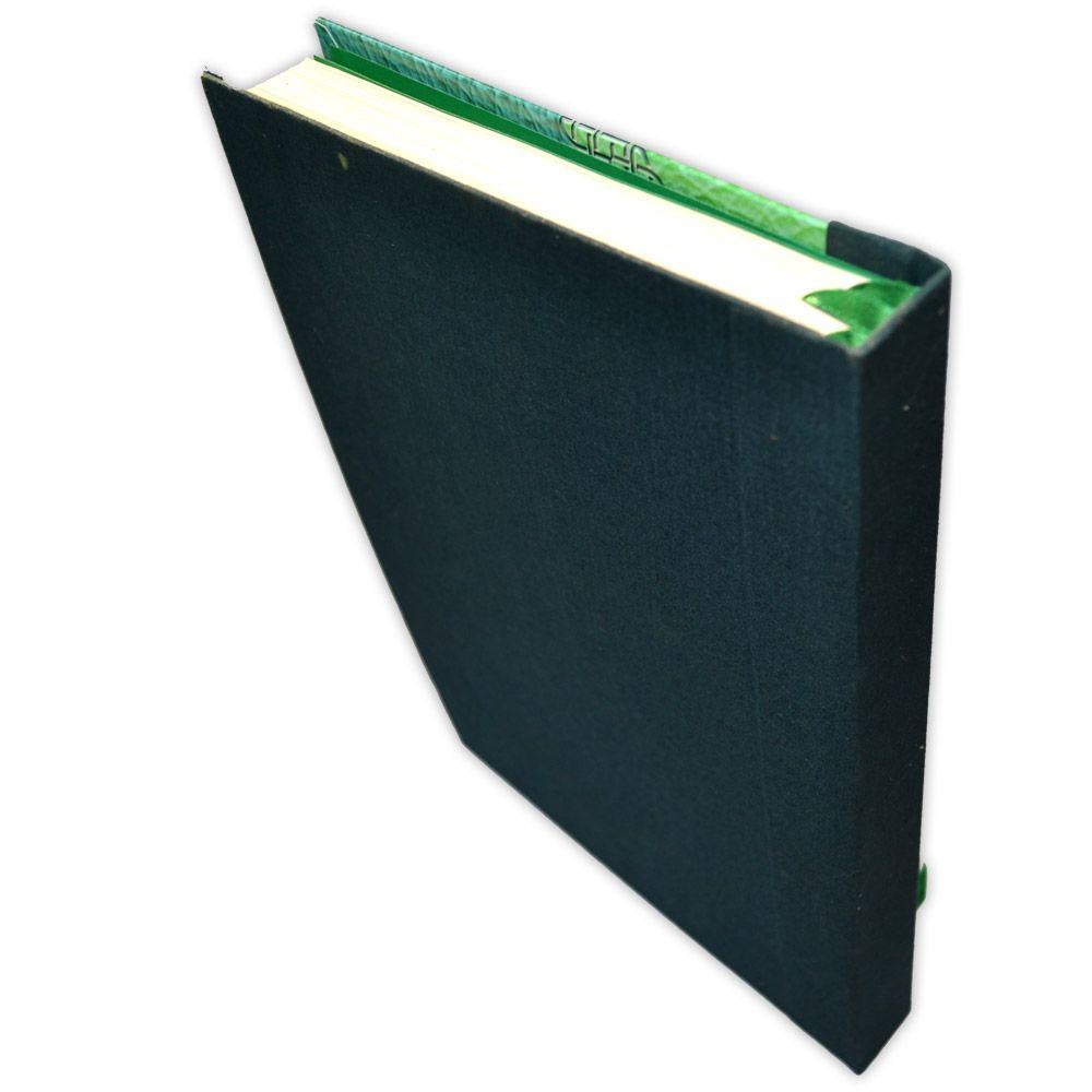 Grimório 500pg. (sem pautas) - Triskle Verde
