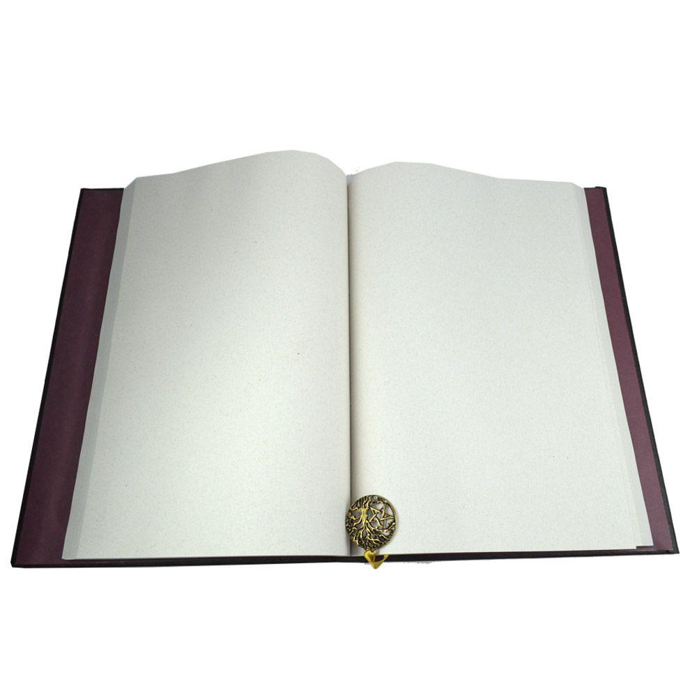 Grimório Tam. 31x22cm 300 pág. (sem pautas) - Árvore da Vida