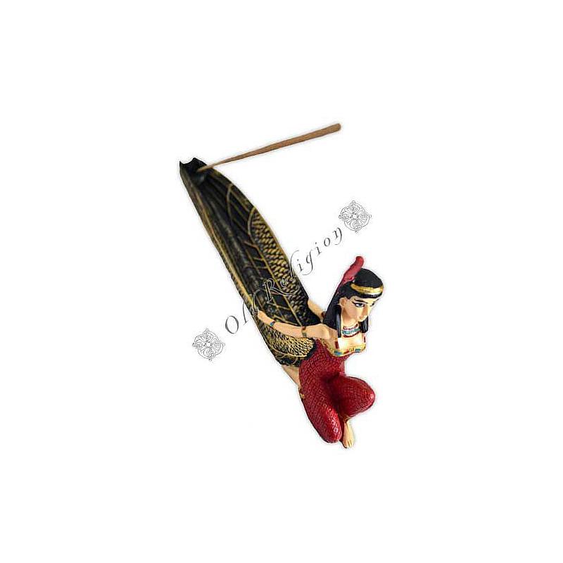 Incensário Egípcio - Deusa Maat da Justiça