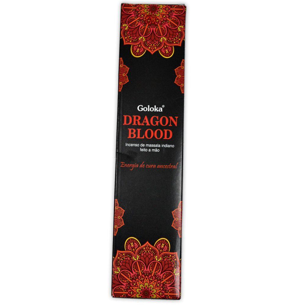 Incenso de Massala Sangue de Dragão - Energia de Cura Ancestral