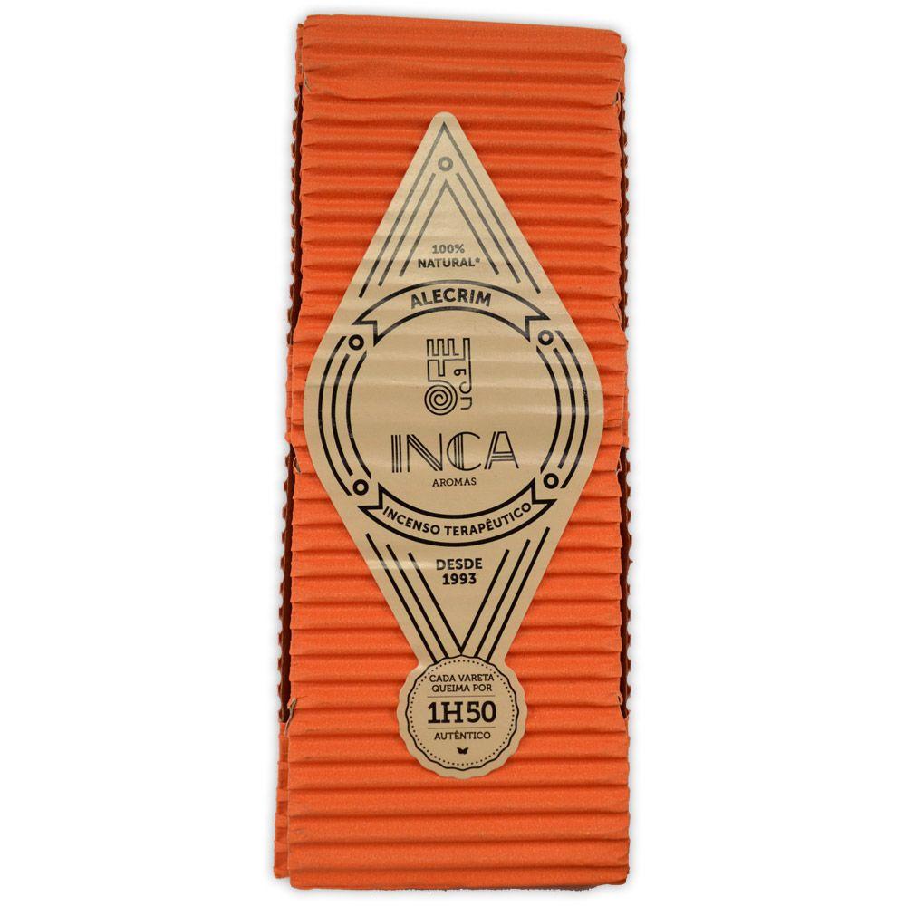 Incenso Terapêutico Artesanal Inca - Alecrim