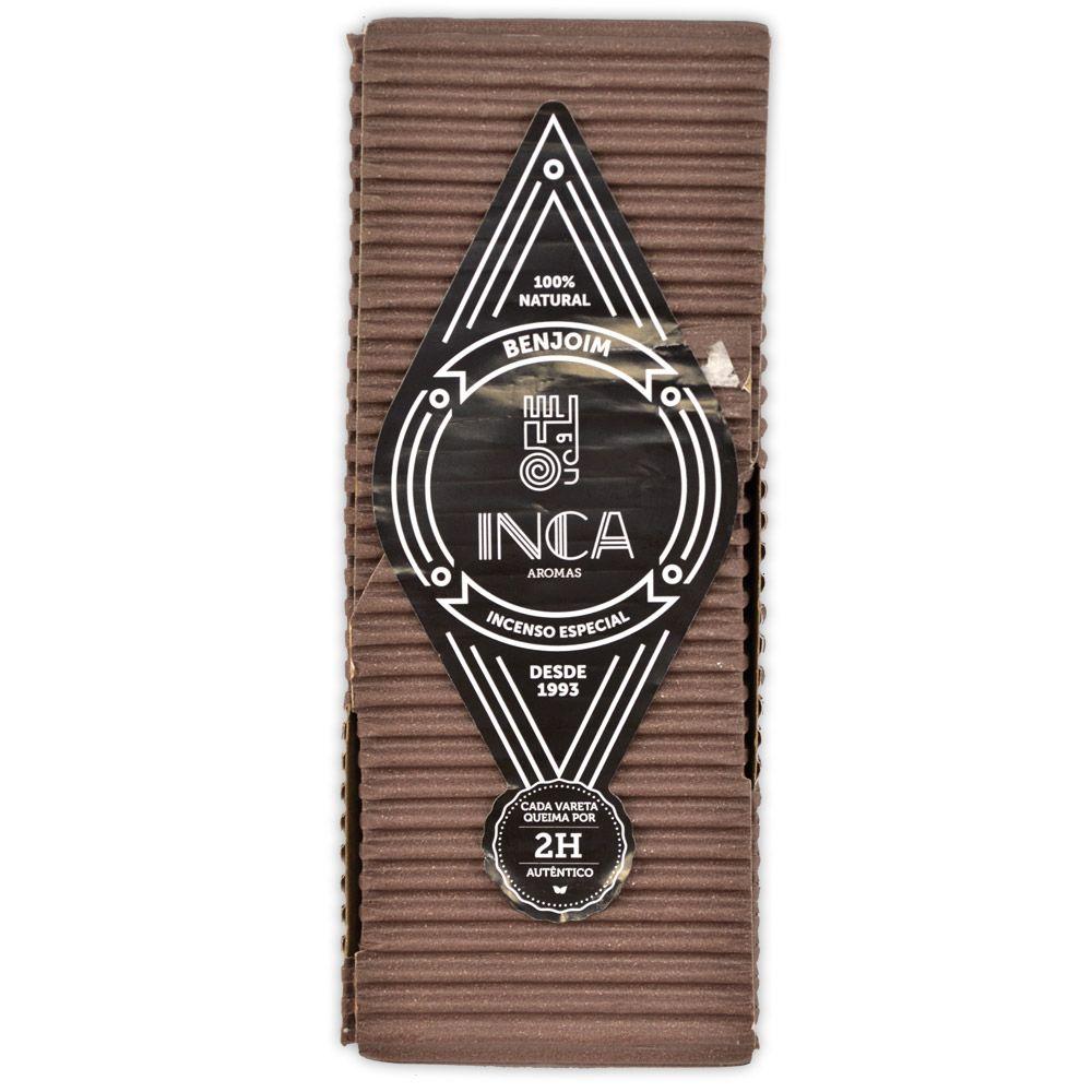 Incenso Terapêutico Artesanal Inca - Benjoim