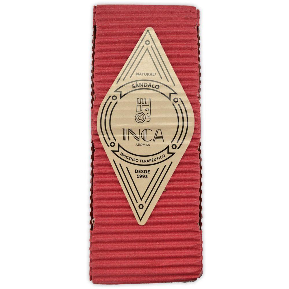 Incenso Terapêutico Artesanal Inca - Sândalo