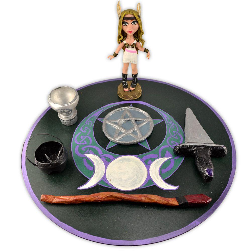Kit Altar em Papel Machê - Infantil