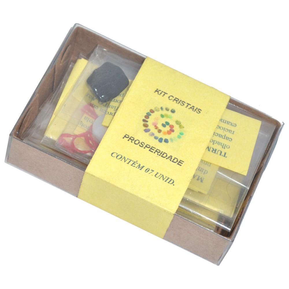 Kit de Mini Cristais para Prosperidade