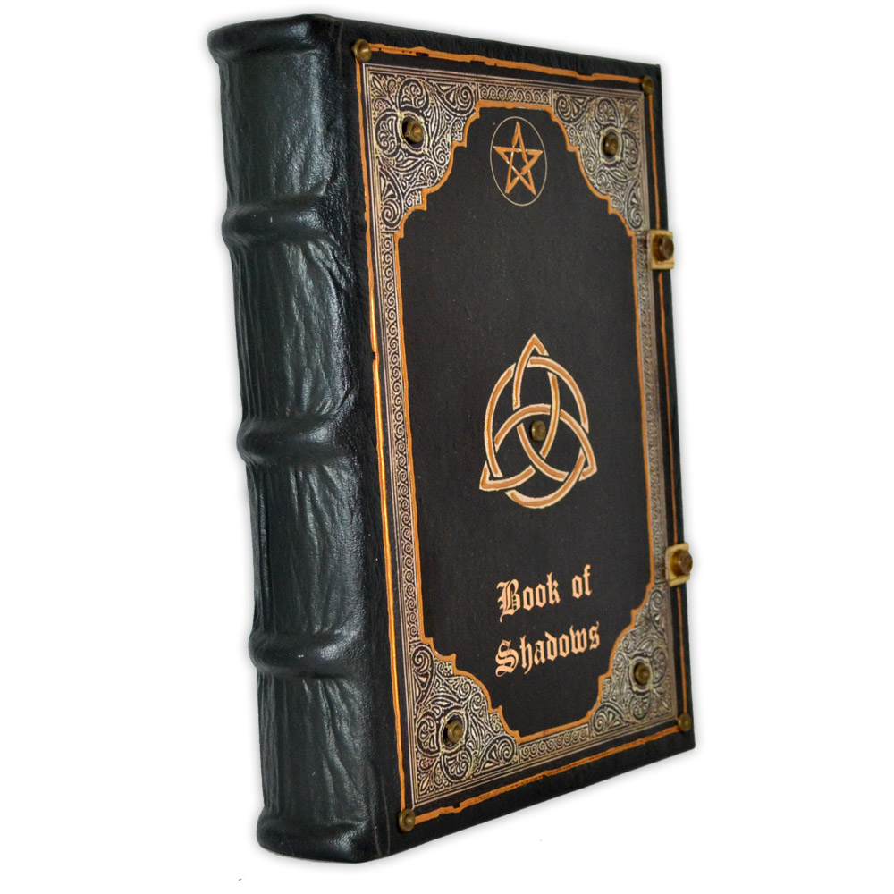Livro das Sombras - Encadernação Medieval 400fls (10)
