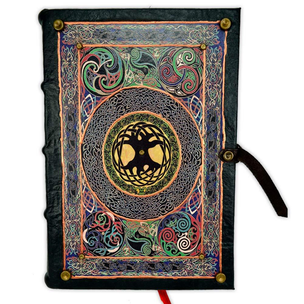 Livro das Sombras - Encadernação Medieval 200fls (10)