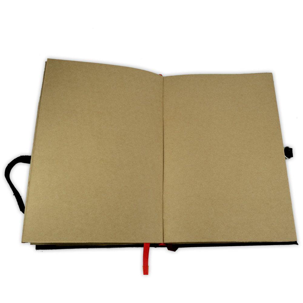 Livro das Sombras 25x17cm - Encadernação Medieval 200fls (11)