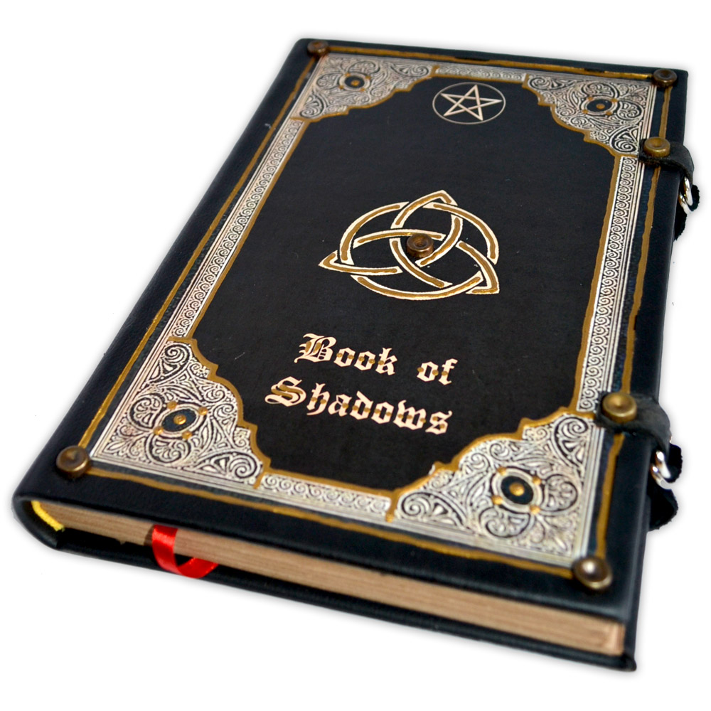 Livro das Sombras - Encadernação Medieval 200fls (13)