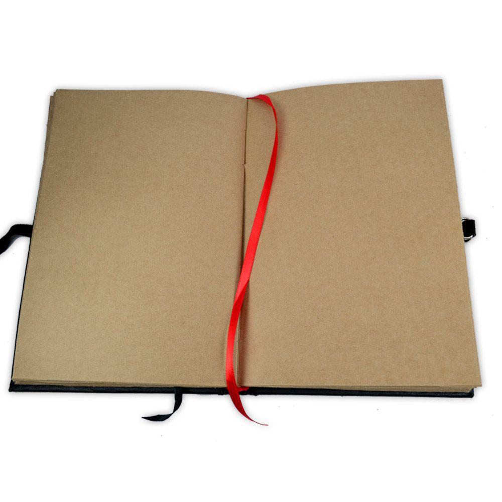 Livro das Sombras 25x17cm - Encadernação Medieval 200fls (5)
