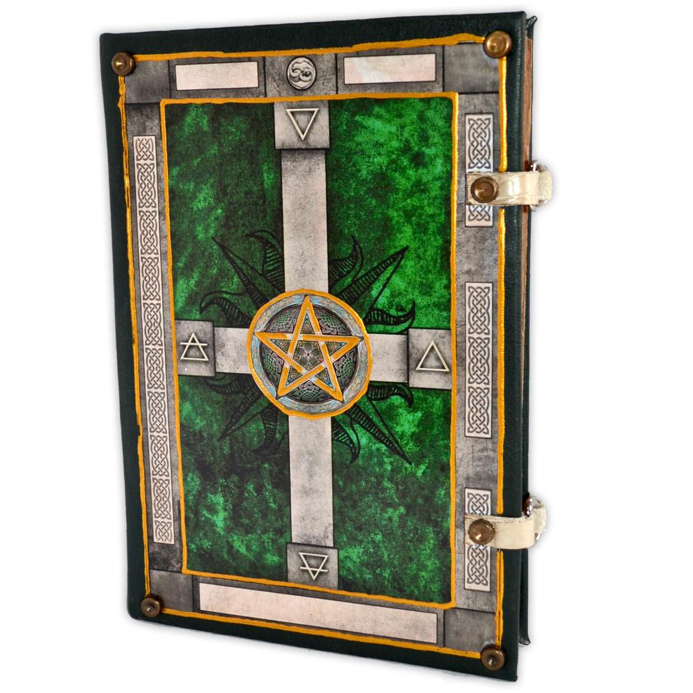 Livro das Sombras - Encadernação Medieval 400fls (12)
