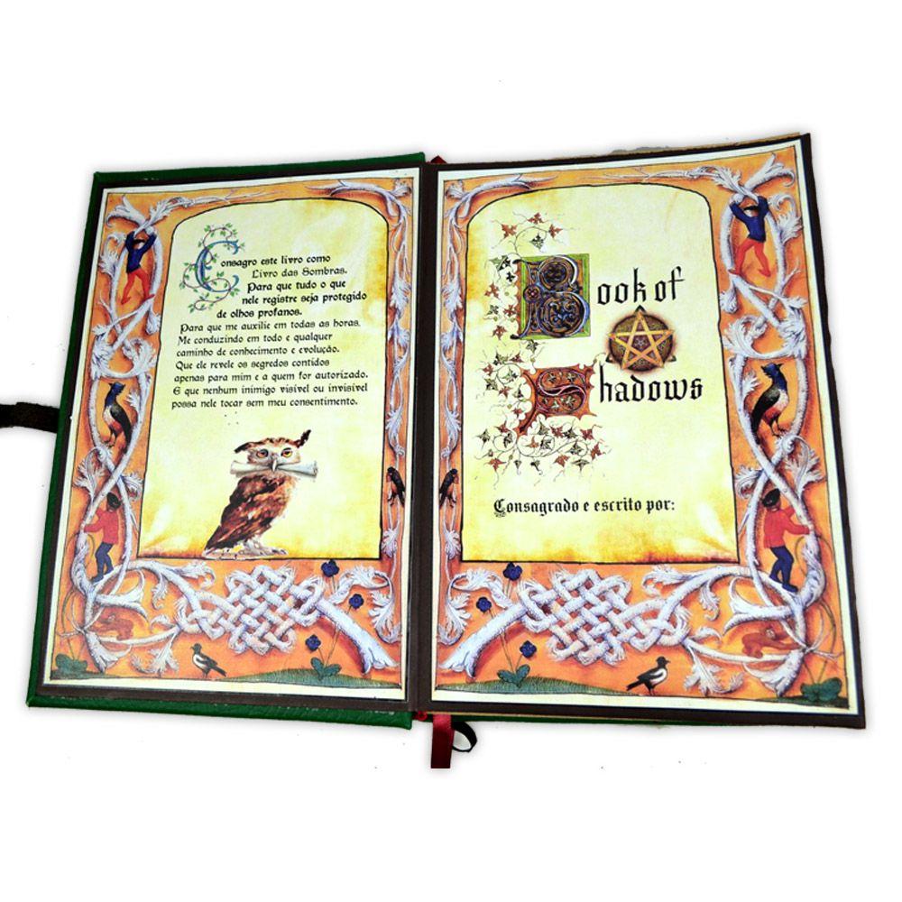 Livro das Sombras - Encadernação Medieval 400fls (5)