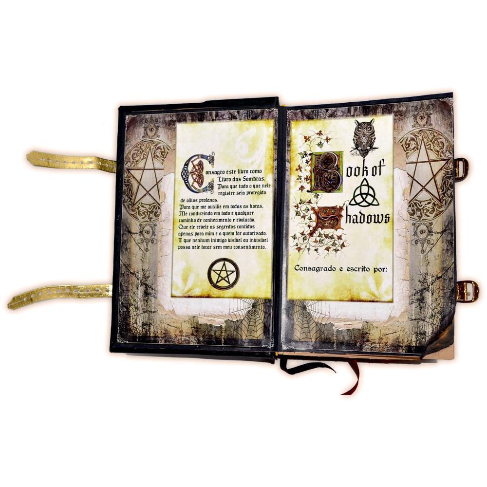 Livro das Sombras - Encadernação Medieval 600fls (4)
