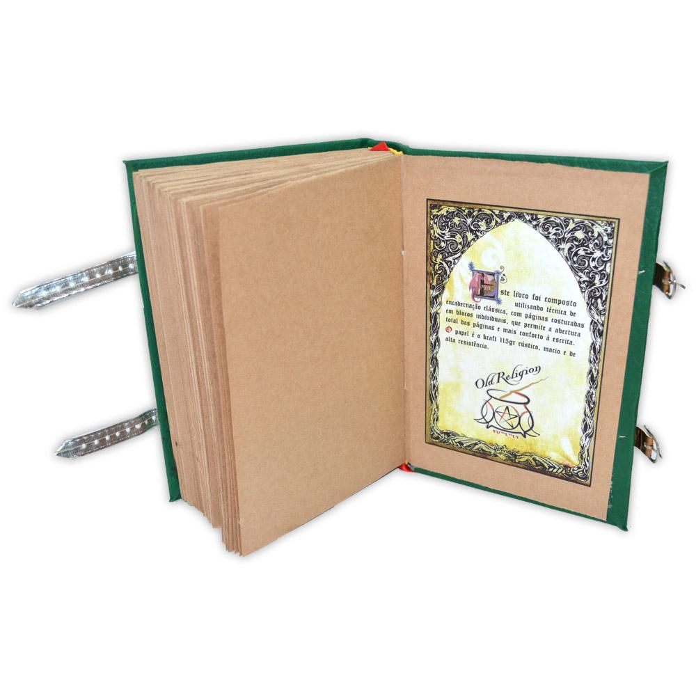 Livro das Sombras - Encadernação Medieval 400fls (7)