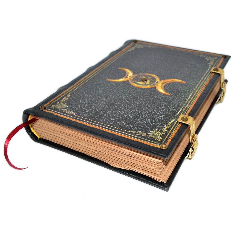 Livro das Sombras - Encadernação Medieval 400fls (8)