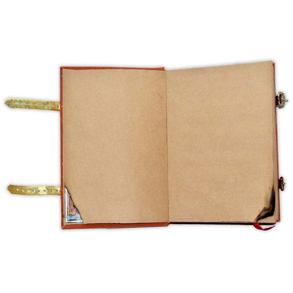 Livro das Sombras - Encadernação Medieval 400fls (9)