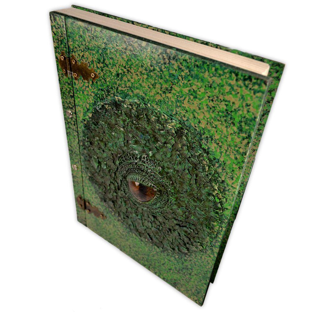 Livro das sombras MDF - Dragão (3)