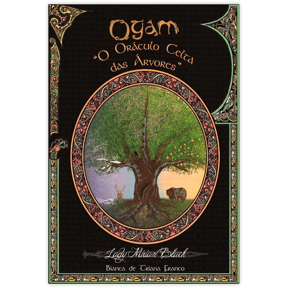 Livro e Baralho Ogam