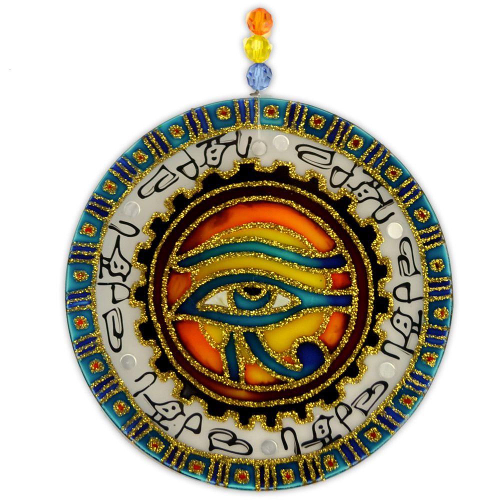 Mandala Olho de Horus 14 cm