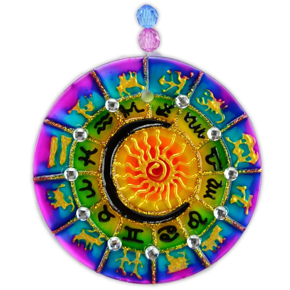 Mandala Zodíaco 10cm