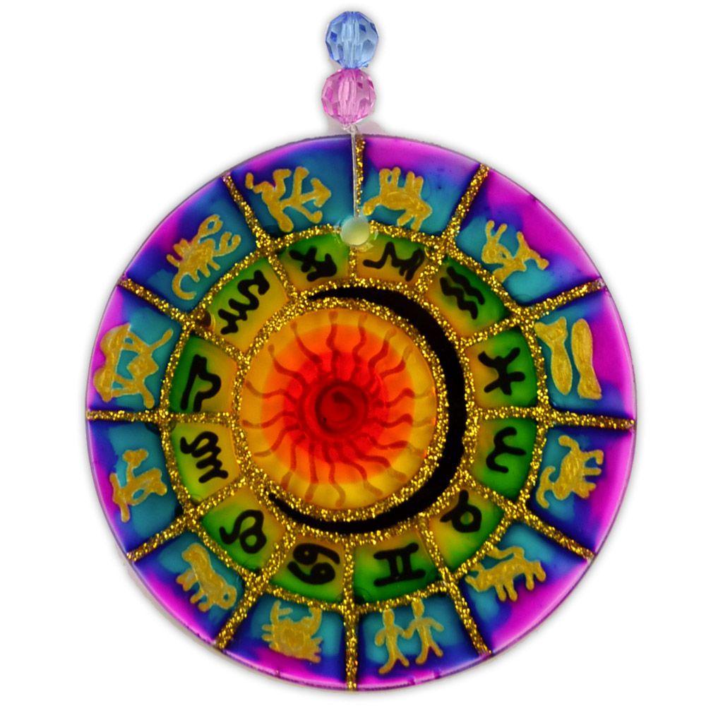Mandala zodiaco 10cm (5)