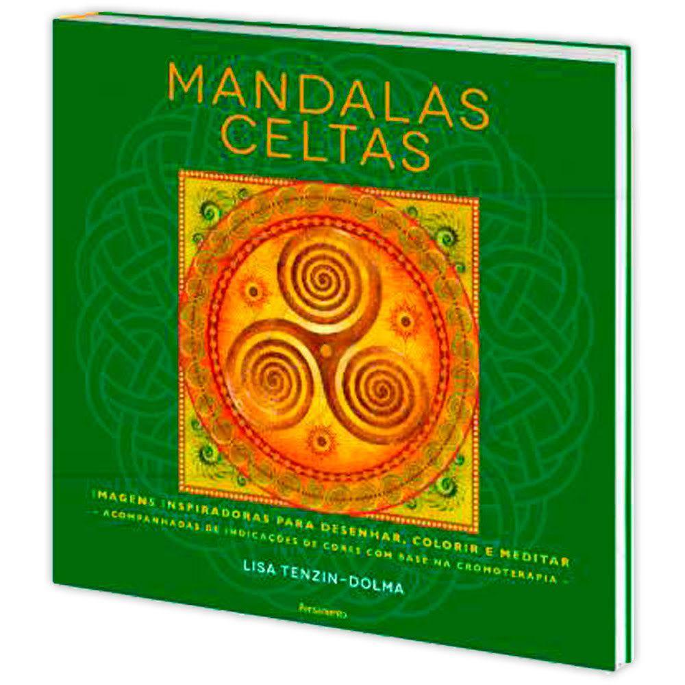 Mandalas Celtas - Imagens Inspiradoras para desenhar, colorir e meditar