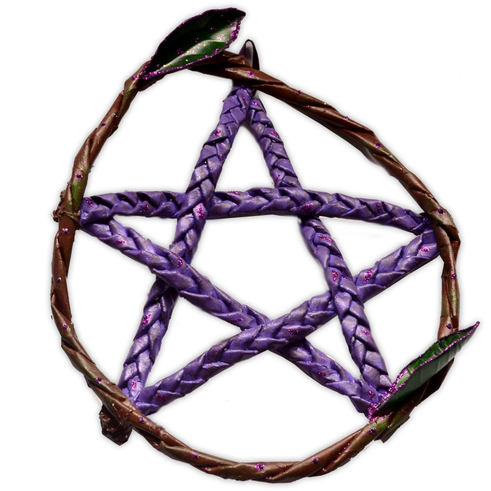Pentagrama de Porta - Roxo