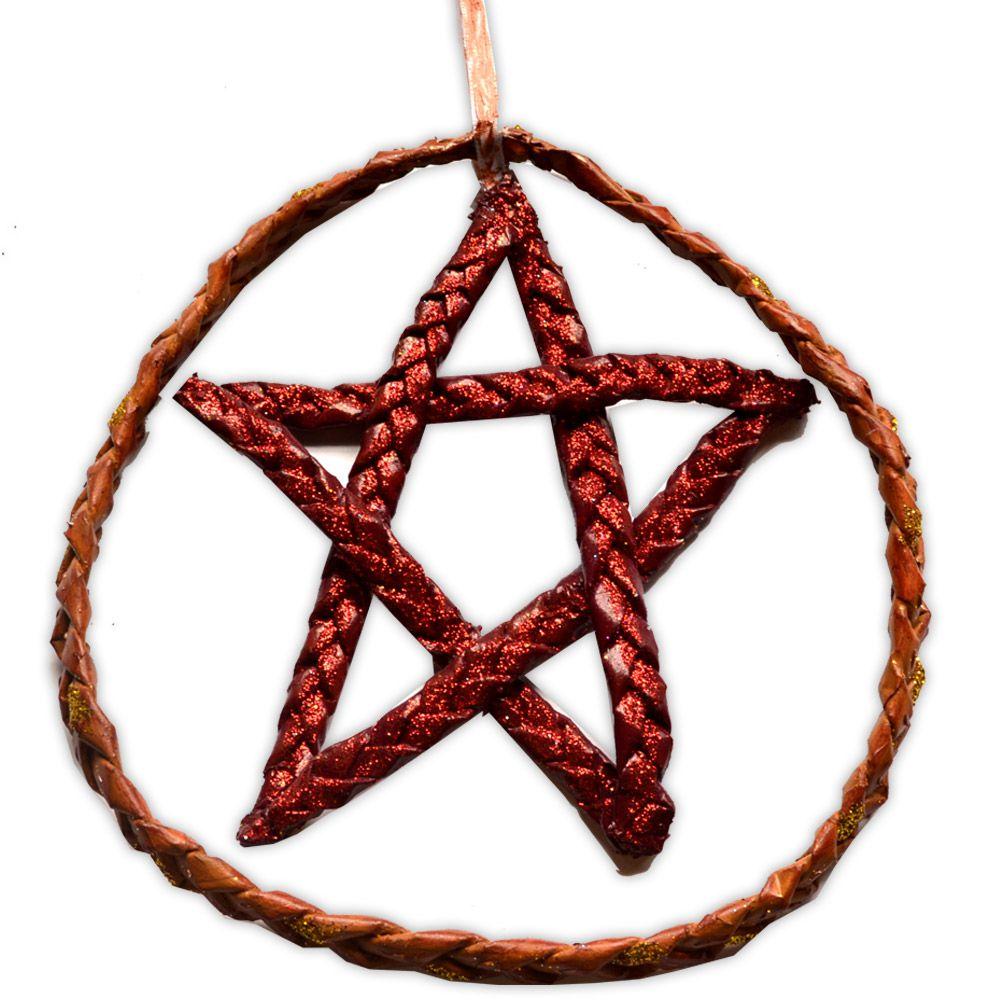 Móbile Pentagrama - Vinho