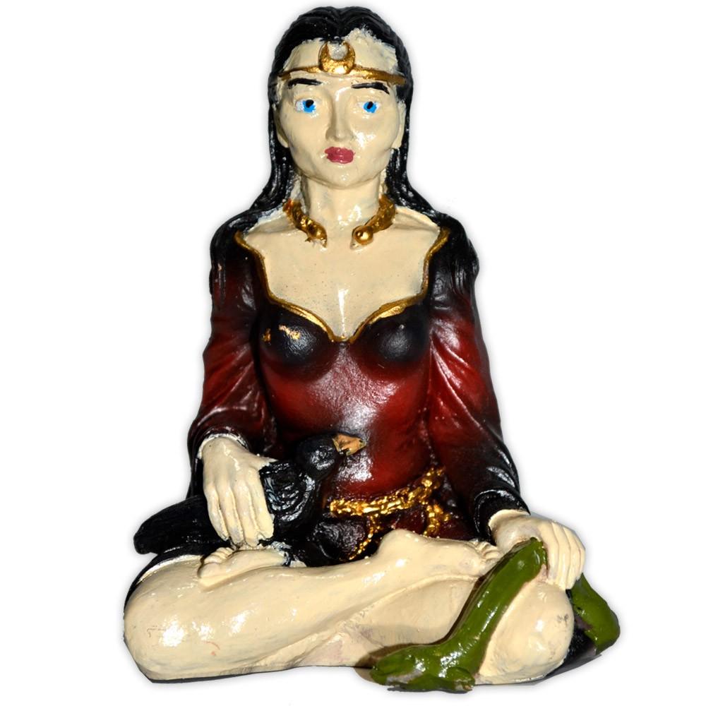 Deusa Morrighan - Colorida Pequena