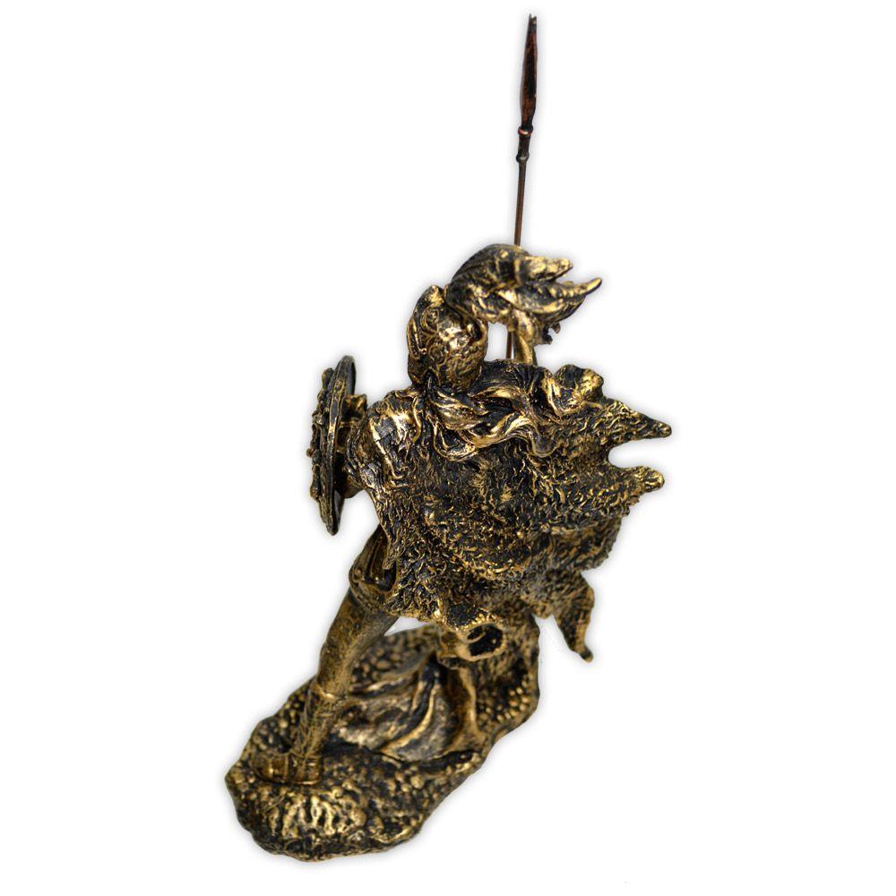 Deusa Athena - Dourado