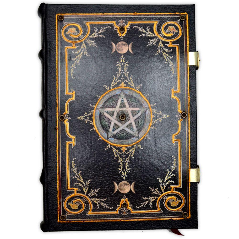Book Of Shadows Encadernação Medieval 250pg. - modelo 3