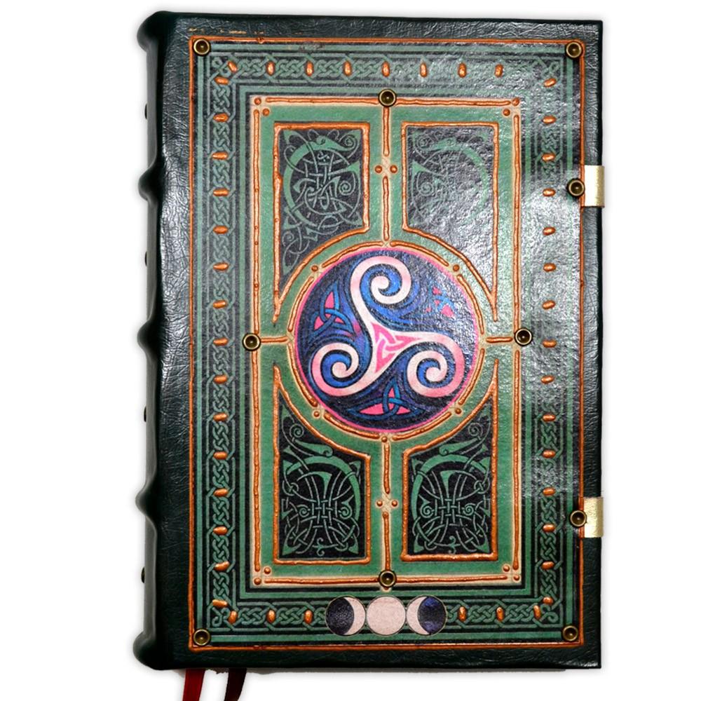 Book Of Shadows Encadernação Medieval 400pg. sem pauta - modelo 1