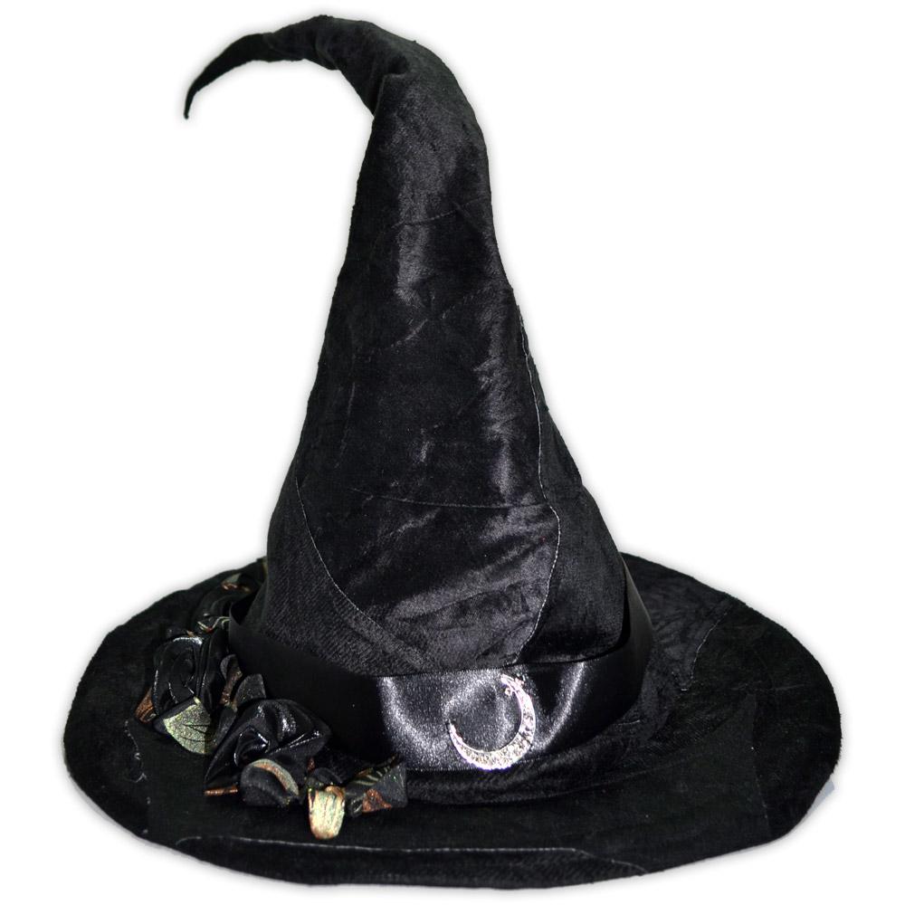 Chapéu de Bruxa - Preto (mod 4)
