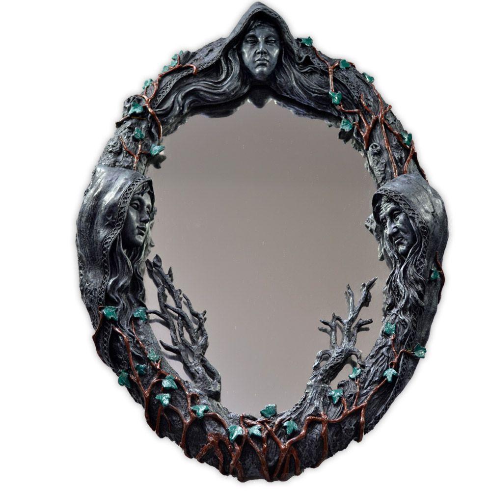 Espelho Deusa Tríplice