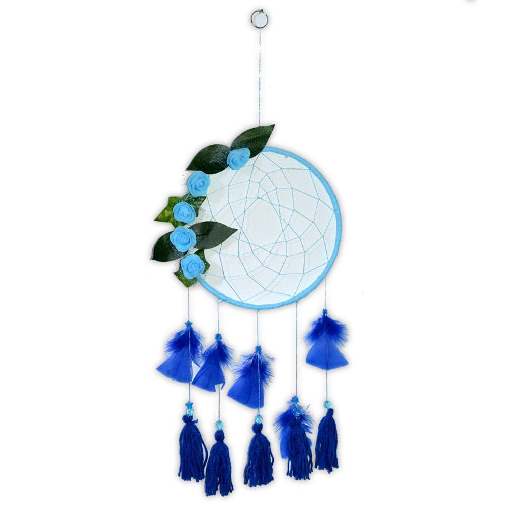 Filtro dos Sonhos Flores - Azul