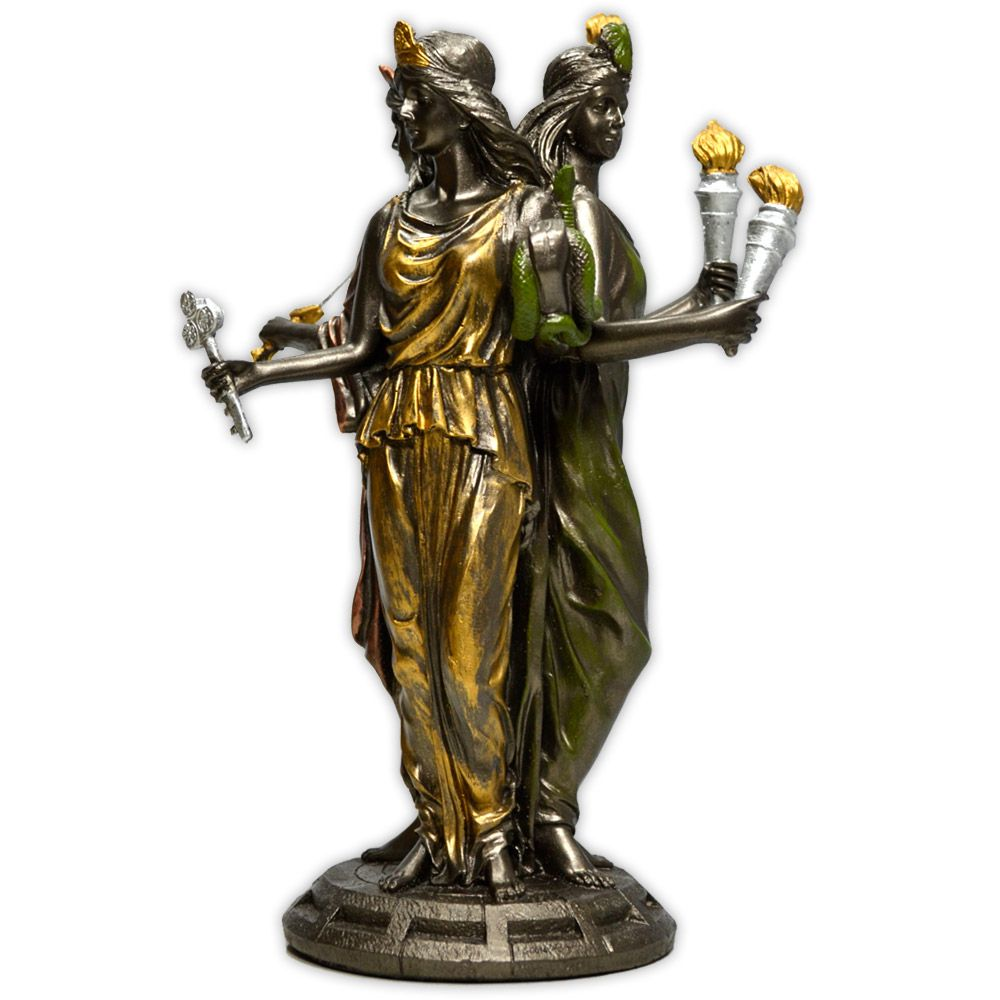 Hécate, Deusa Tríplice dos Céus, da Terra e do Submundo - grande