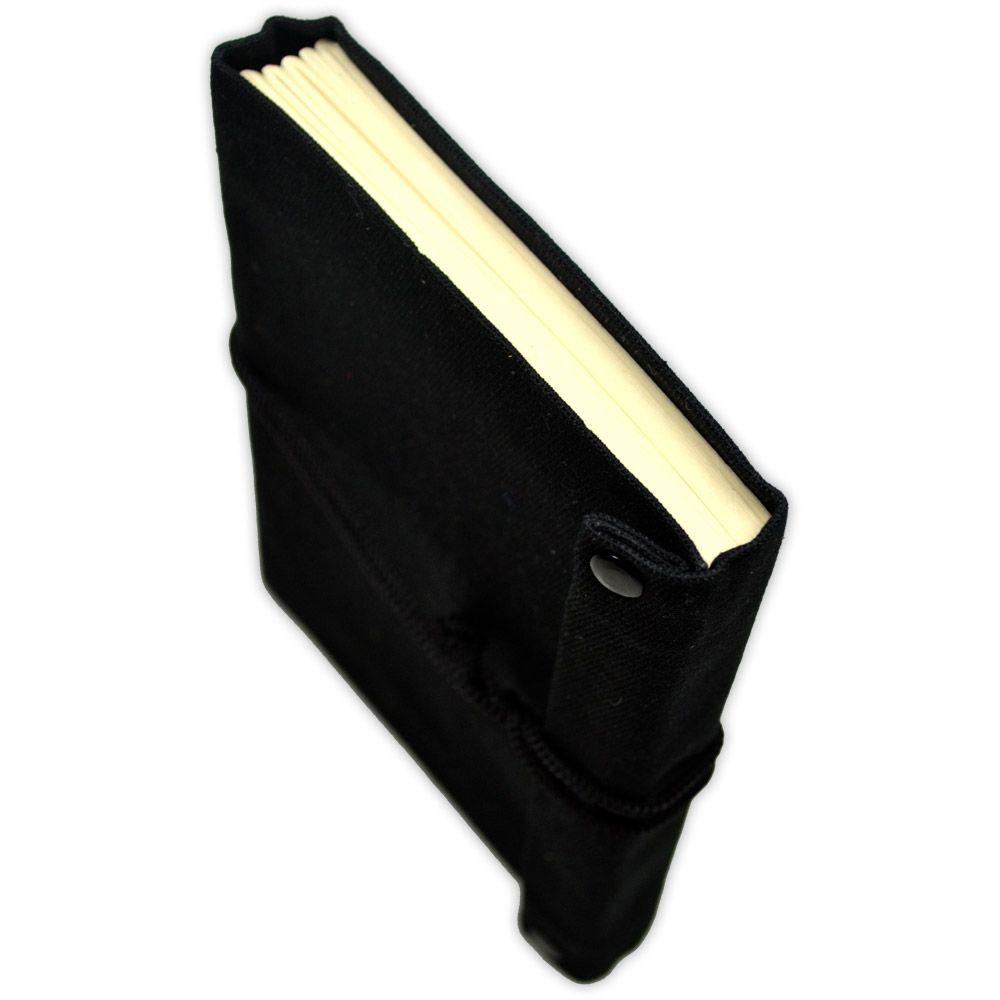 Mini Livro das Sombras 100fls - Preto modelo 2