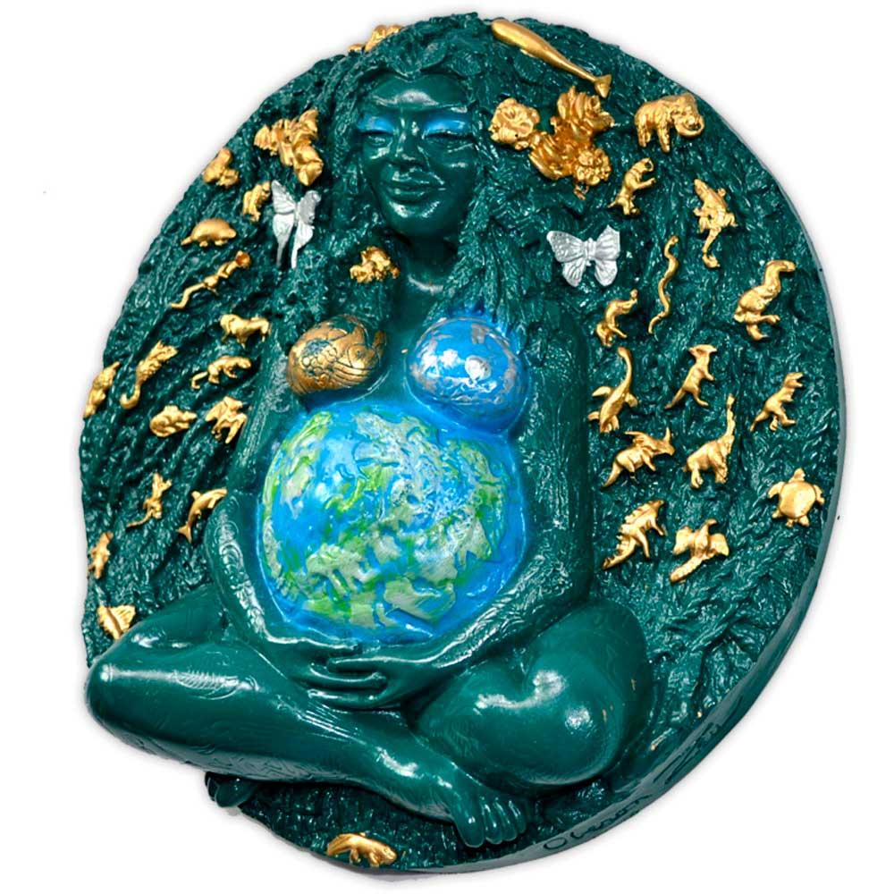 Placa Deusa Gaia