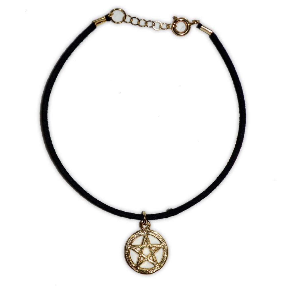 Pulseira Pentagrama - Dourada